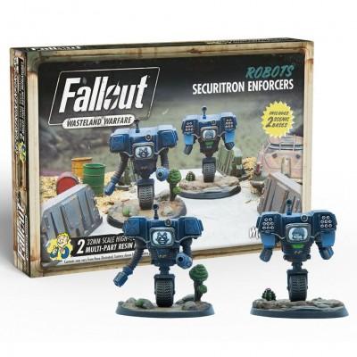 Fallout: WW: Robots Securitron Enforcers