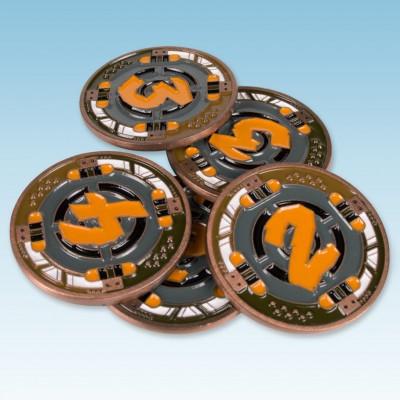Raid & Trade: Metal Credit Discs