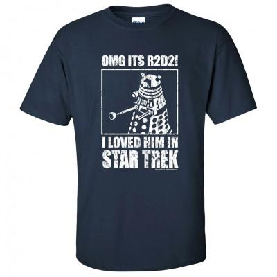 R2D2! I Loved Him in Star Trek (3XL)