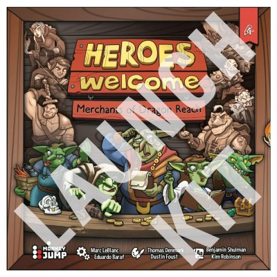 Heroes Welcome: Dragon Reach Launch Kit