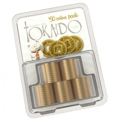 Tokaido: Metal Coins Accessory Pack (50)