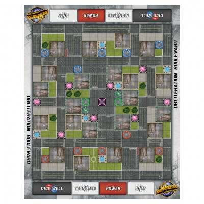 MP: Obliteration Boulevard Playmat