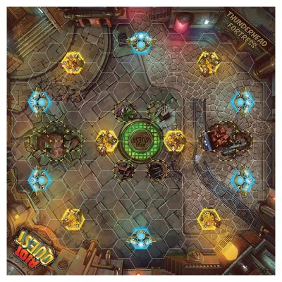 Play Mat: RQ: Thunderhead Fortress