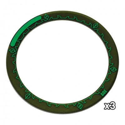 Hordes:4''Area of Effect Ring Markers(3)