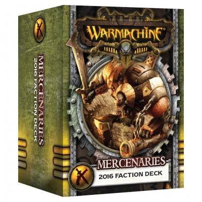 WM: Merc: 2016 Faction Deck