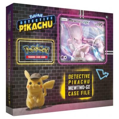 PKM: Det. Pikachu: Mewtwo-GX Box