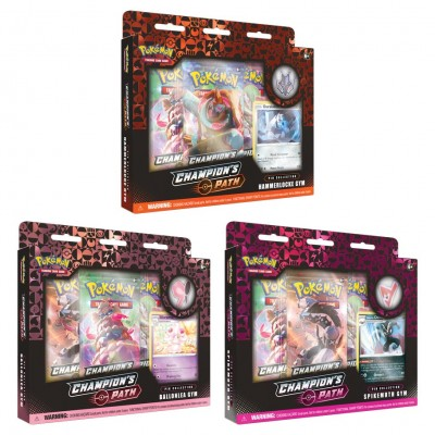 PKM: Champion's Path Pin Collection 2