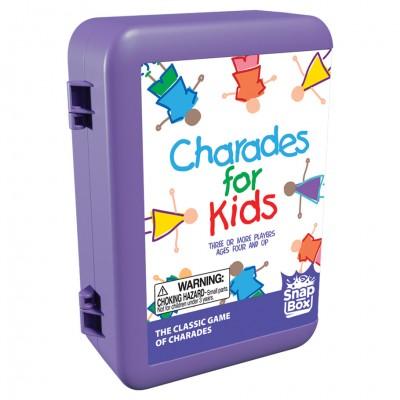 Charades for Kids (Snap Box)