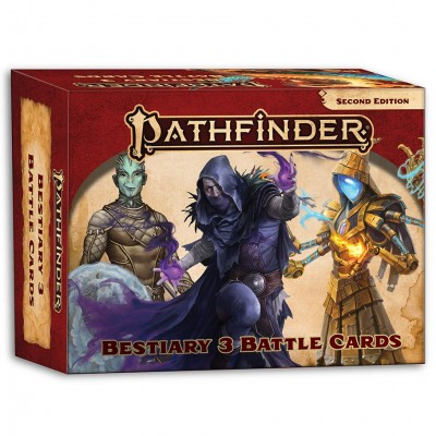PF2E: Bestiary 3 Battle Cards