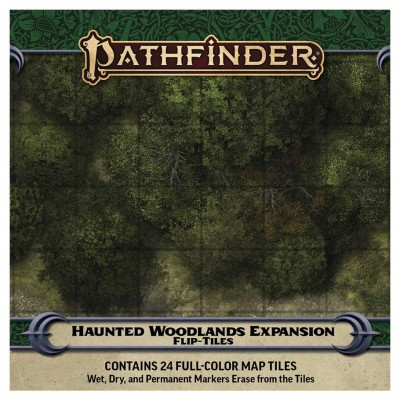 PFRPG: Flip-Tiles: Haunted Woodlands Exp