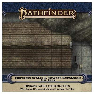PF2E:Flip-Tiles:Fortress Walls&TowersExp