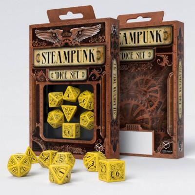 7-set Steampunk Dice YEbk