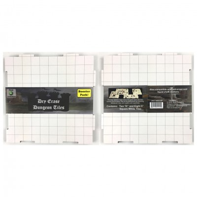 Dry-Erase Dungeon Tile BP: White