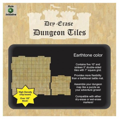 Dungeon Tiles: Earthtone: Combo Pack