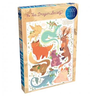 Puzzles: Tea Dragon: Varieties 1000pc