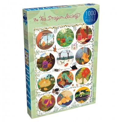 Puzzles: Tea Dragon: Circles 1000pc
