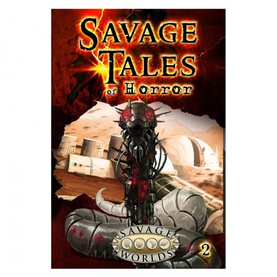 Savage Tales of Horror: Volume 2 LE (HC)
