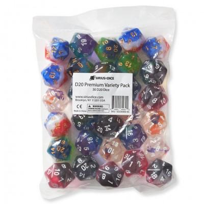 d20 Premium Variety Pack Ast (30)