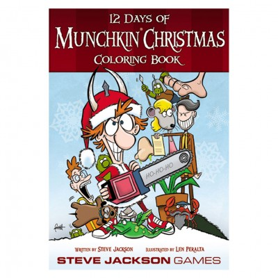 12 Days of Munchkin Christmas ColoringBK