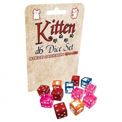 Kitten: D6 Dice Set