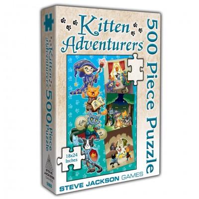 Puzzle: Kitten Adventures 500pc