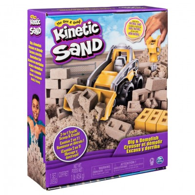 Kinetic Sand Construction Dlx Truck (3)