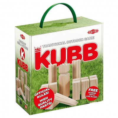 Kubb in a Cardboard Box