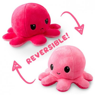Reversible Octopus Mini Plush: Double PK