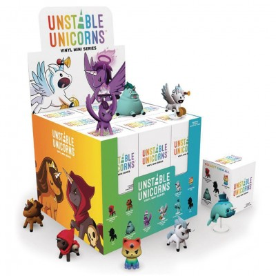 Unstable Unicorns: Vinyl Minis Display