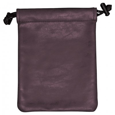 Dice Bag: Suede: Treasure Nest: Amethyst