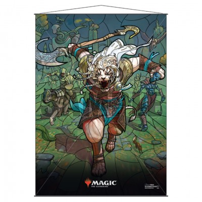 Wall Scroll: MtG: Stnd Glss: Ajani
