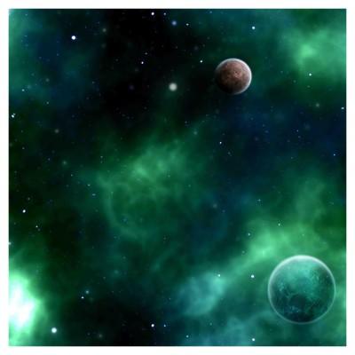 Table Mat: Green Space 1 Terrain 4' x 4'