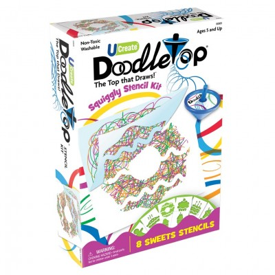 Doodletop Sweets Stencil Kit