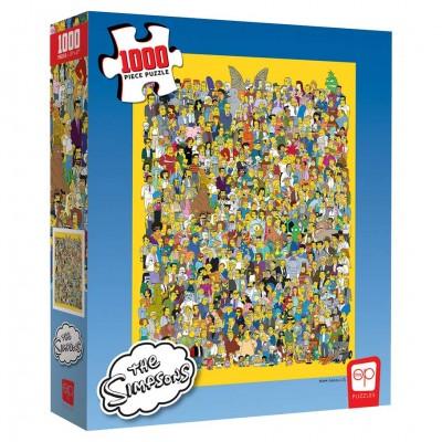 Puzzle: Simpsons Cast Thousands 1000pc