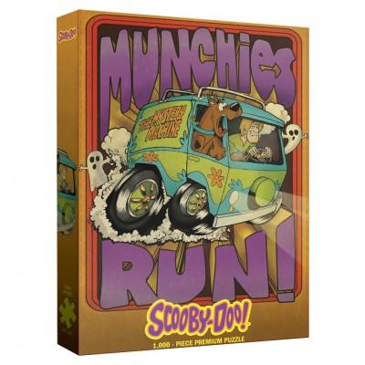 Puzzle: Scooby-Doo: Munchies Run 1000pc