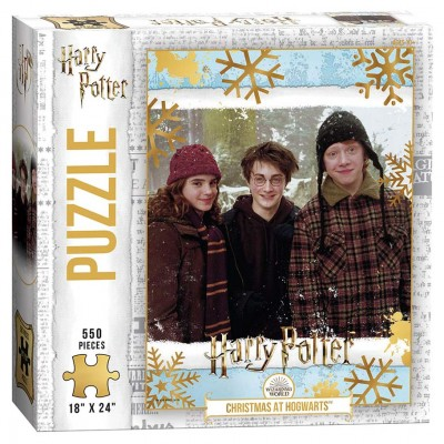 Puzzle: HP: Christmas at Hogwarts 550 pc