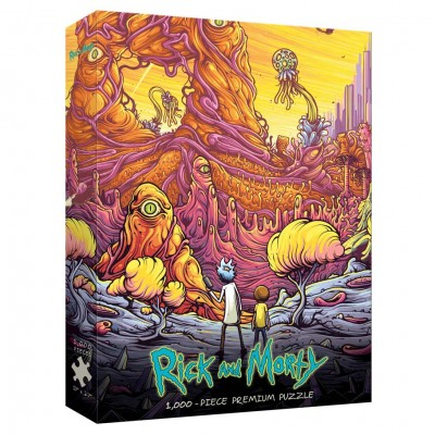 Puzzle: Rick & Morty: Rickverse 1000 pc