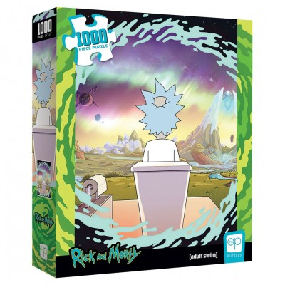 Puzzle: Rick and Morty Shy Pooper1000 pc