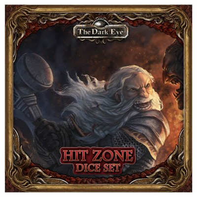 TDE: Hit Zone Dice Set