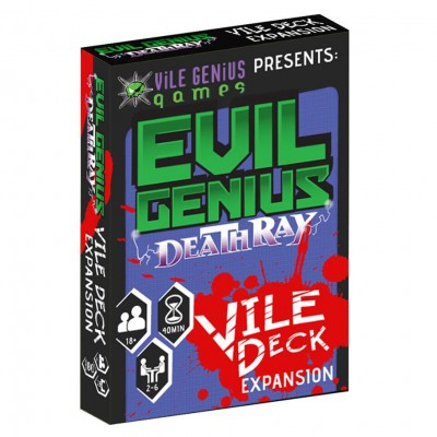 Evil Genius: Deathray: The Vile Deck