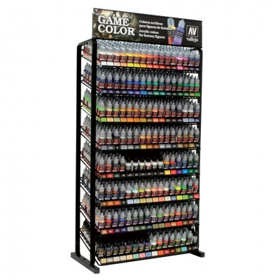 Game Color Rack Paint Strips