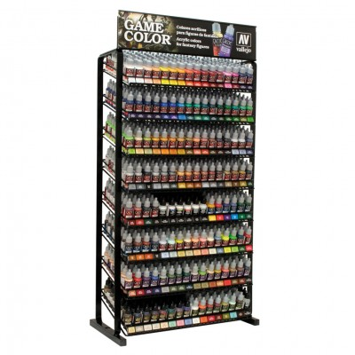 Game Color Complete Range w/ Rack