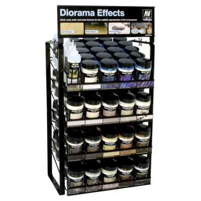 Diorama Effects Complete Range w/ Rack