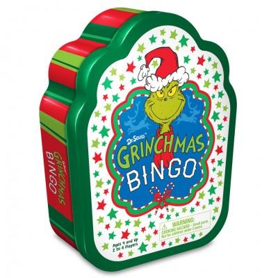 Dr. Seuss Grinch Christmas Bingo