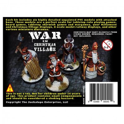 WICV: War in Christmas Village Orig Set