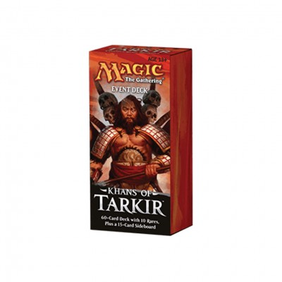 MtG: Khans of Tarkir Event Deck Display