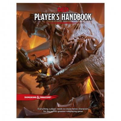 D&D 5th: Player's Handbook (HC)