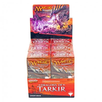 MtG: Dragons of Tarkir Event Deck Dsply