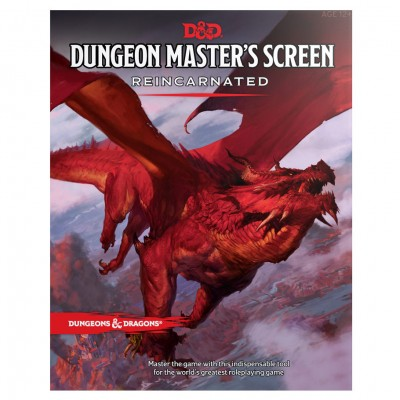 D&D 5th: DM Screen Reincarnated