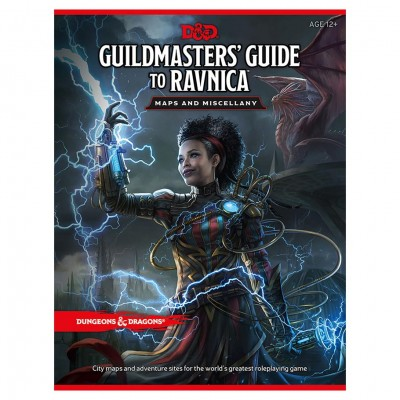D&D: Guildmasters' Guide to Ravnica Map
